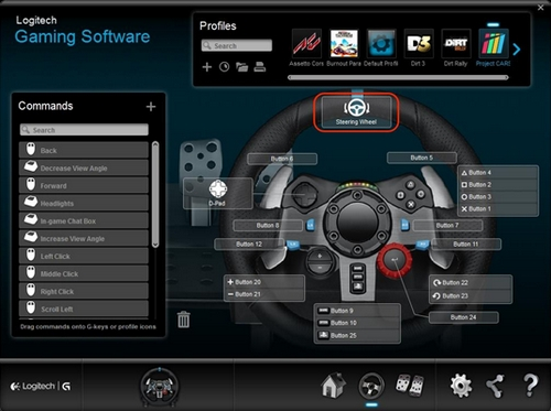 Setting A Logitech Gt  On Project Cars Ps