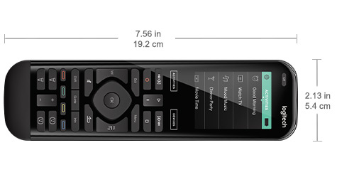 1e5f1e3e994 Logitech Harmony Elite advanced universal remote, hub and app