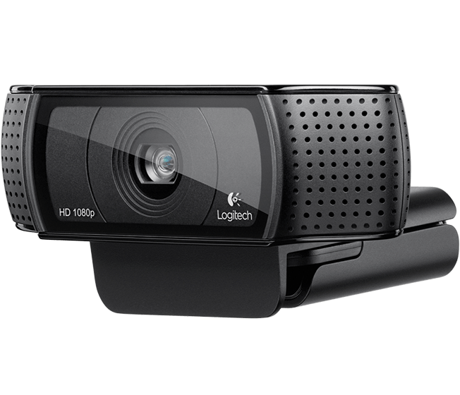 HD Pro Webcam C920 Top compact shot