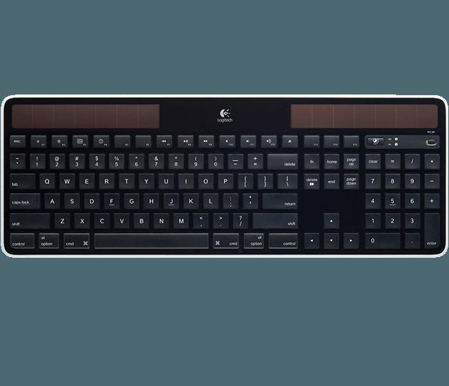 Recension Av Logitech Wireless Solar Keyboard K750 For Mac