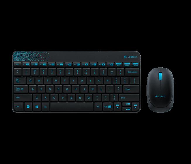 Клавиатура+мышь Logitech MK240 Wireless