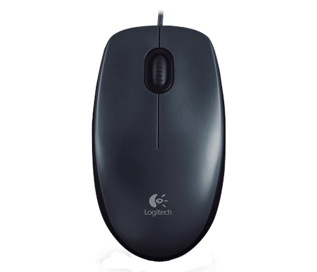 Mouse M90 black mouse product top shot