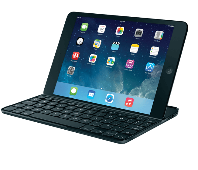 Ultrathin keyboard for iPad mini black