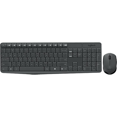 Product Image of MK235 Wireless Keyboard and Mouse