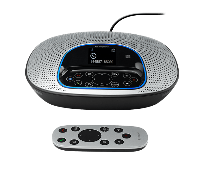 ConferenceCam CC3000e speakerphone and remote