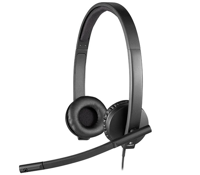 b8b67ae4ab5 Logitech H570e USB Headset with Noise-Cancelling Mic
