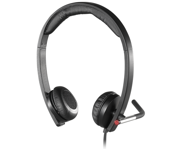 Logitech Business H650e Headset with Noise-Cancelling Mic