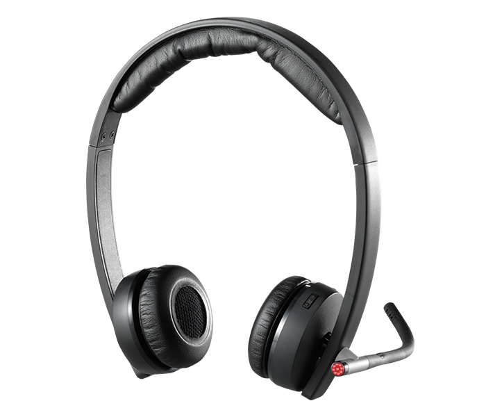 Logitech H820e Wireless Headset With Noise Cancelling Mic