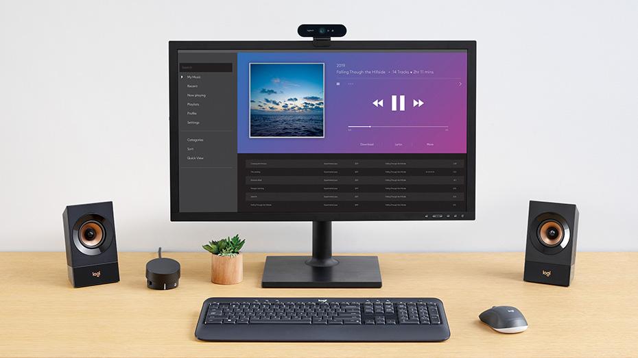 Logitech Z8 Multimedia 8.8 Speaker System with Subwoofer