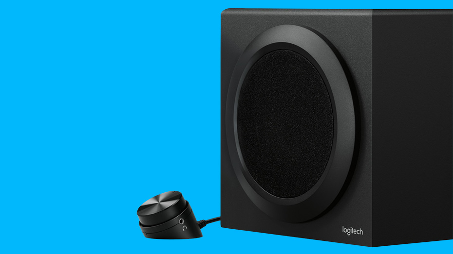 Logitech Z333 2.1 Computer Speaker System with Subwoofer & Strong Bass
