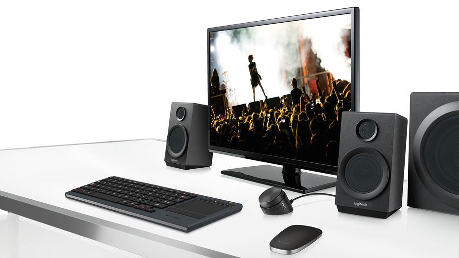RCA 3.5MM 40W PC Logitech Z333 Multimedia Speaker EU 2.1 2.1, 40W, PC, 3.5MM, RCA 980-001202