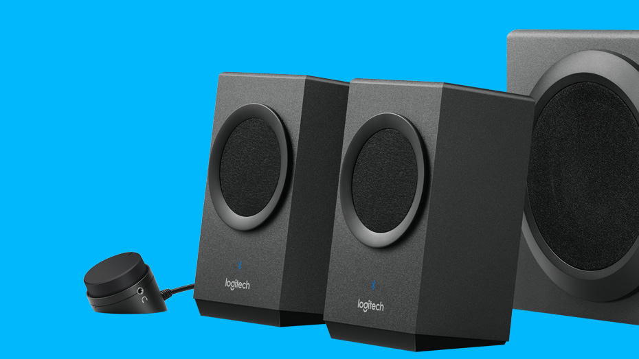 Logitech Z337 Bluetooth Streaming 2.1 PC Speakers with ...