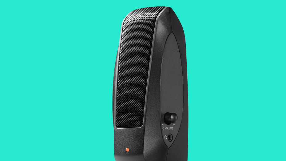 how to connect logitech s120 speakers to computer