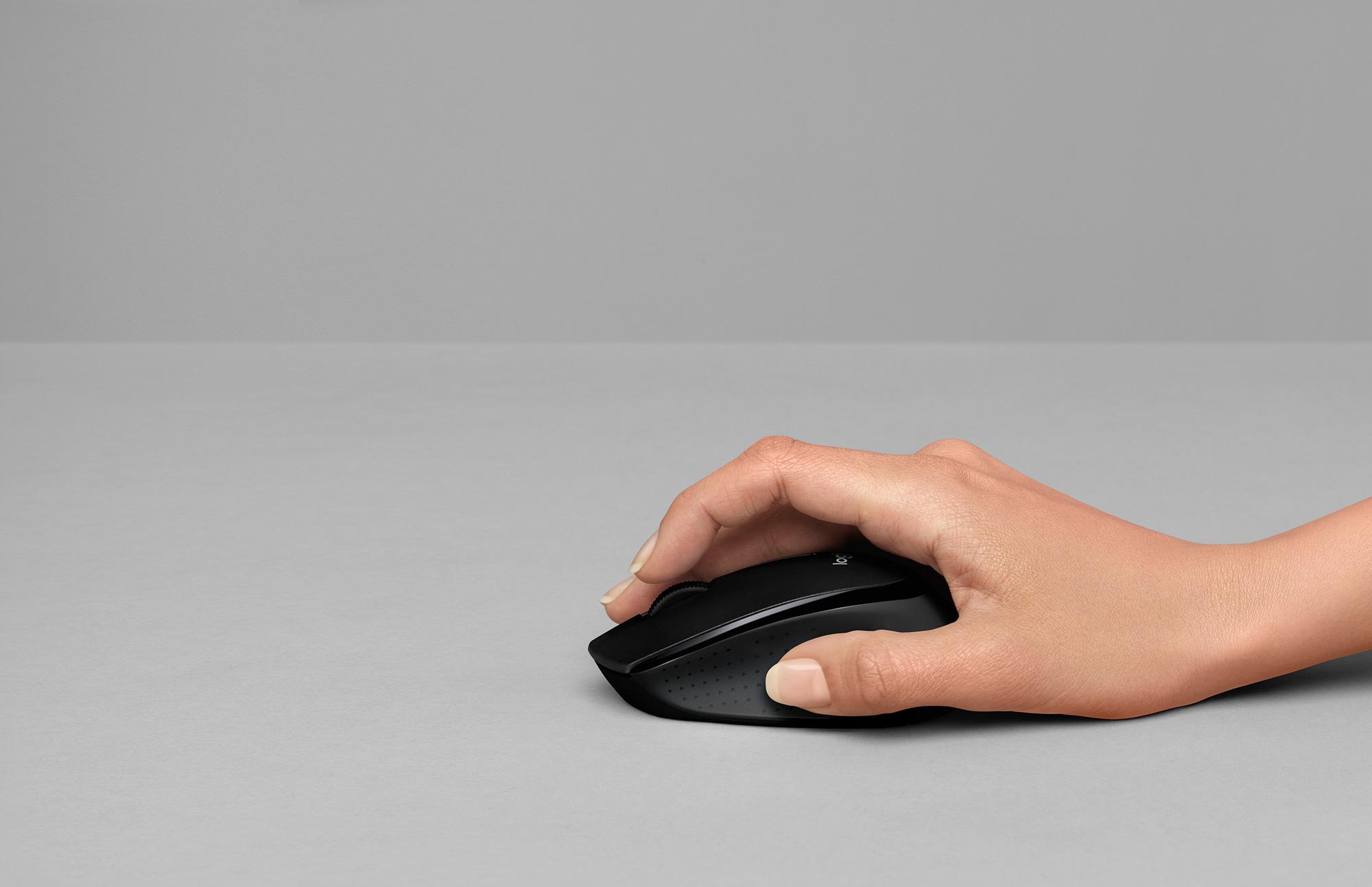 4d130736b58 Logitech B330 Silent Plus Mouse for Quiet Work Productivity