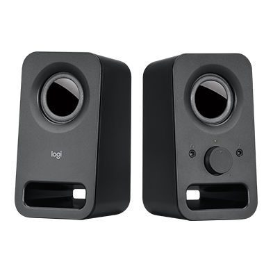 Z150 Clear Stereo Sound Black Speakers