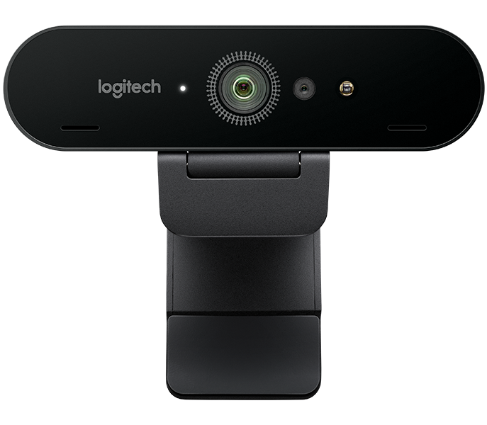 Logitech BRIO Webcam with 4K Ultra HD video \u0026 RightLight 3 with HDR