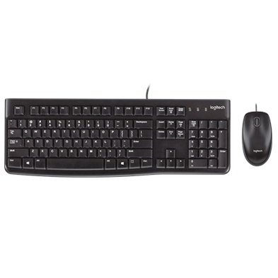 Product Image of MK120 Corded Keyboard and Mouse Combo