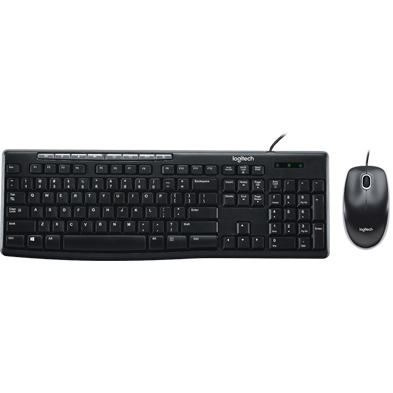 Product Image of MK200 Media Corded Keyboard and Mouse Combo