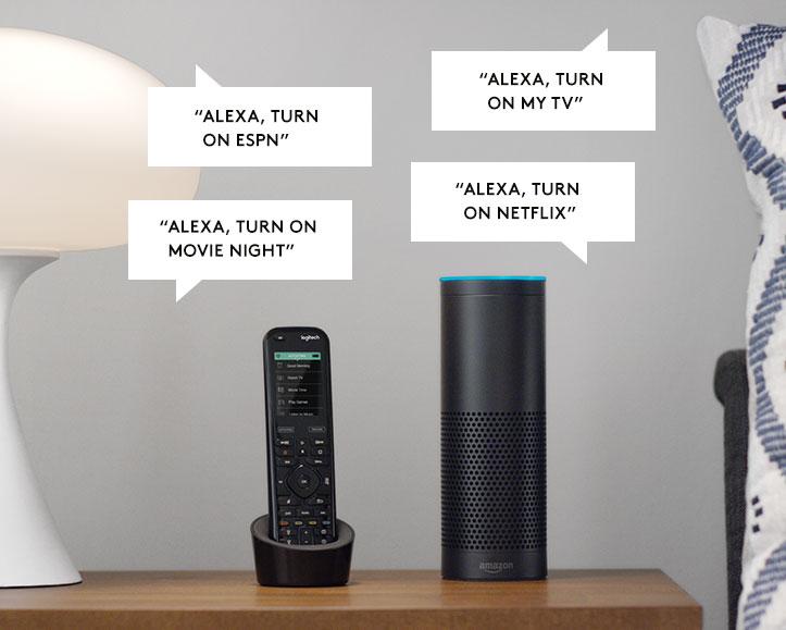 Harmony + Alexa: Say Hello to Voice Controlled Home