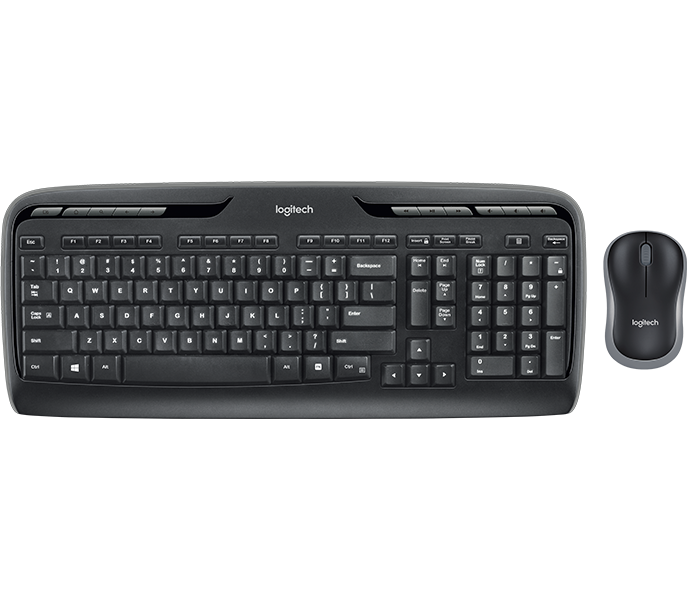 Logitech Business Mk320 Wireless Keyboard And Mouse Combo