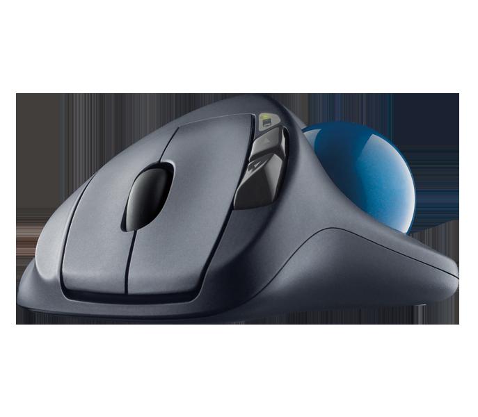 0353ad29590 Logitech Business M570 Wireless Trackball Designed for Comfortable  Productivity
