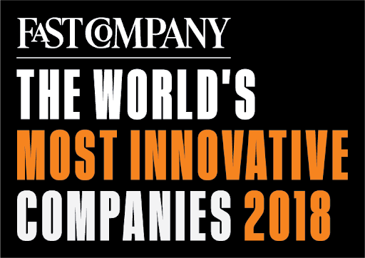 128f461cead FAST COMPANY TOP 10 MOST INNOVATIVE COMPANIES IN DESIGN 2018