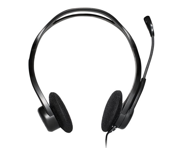 2c17324a921 Logitech H960 Office USB Headset with Noise-Canceling Mic