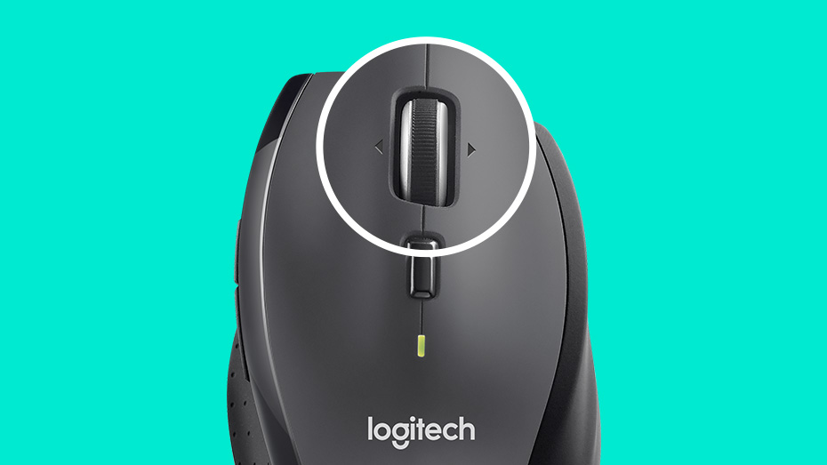 Logitech Business M705 Marathon Wireless Mouse with Extended