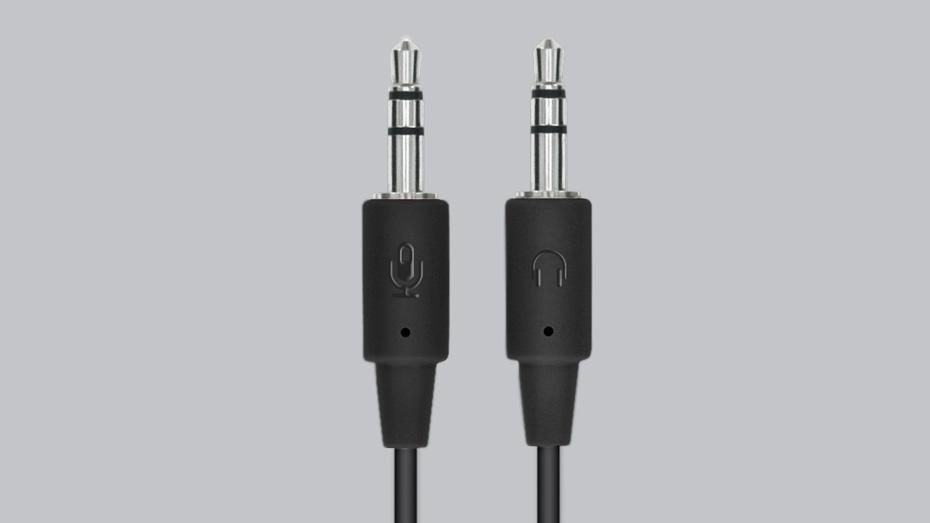 h110 stereo headset 35mm dual plug