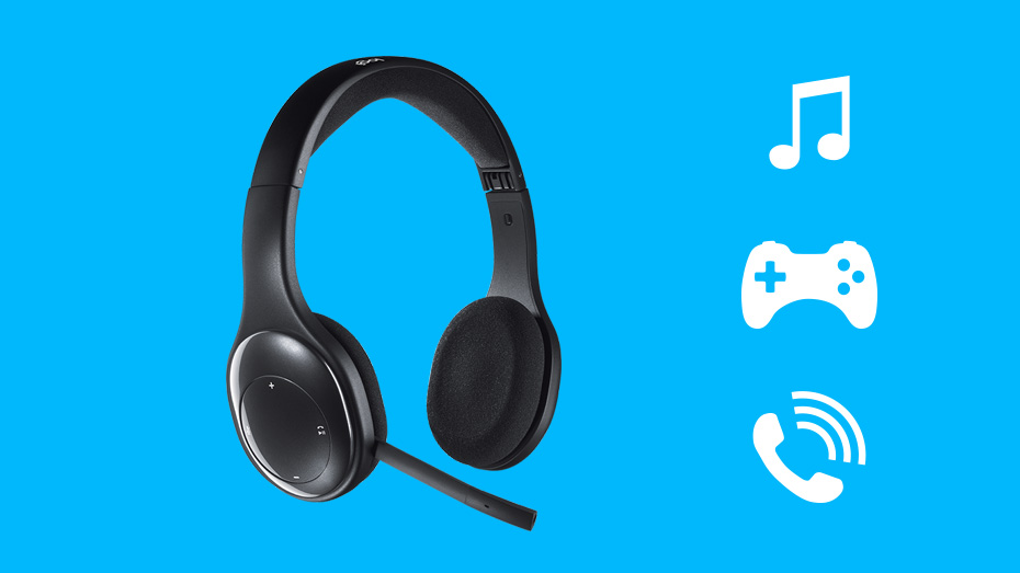 ac3288914ce Logitech H800 Bluetooth Wireless Headset with Noise-Cancelling Mic