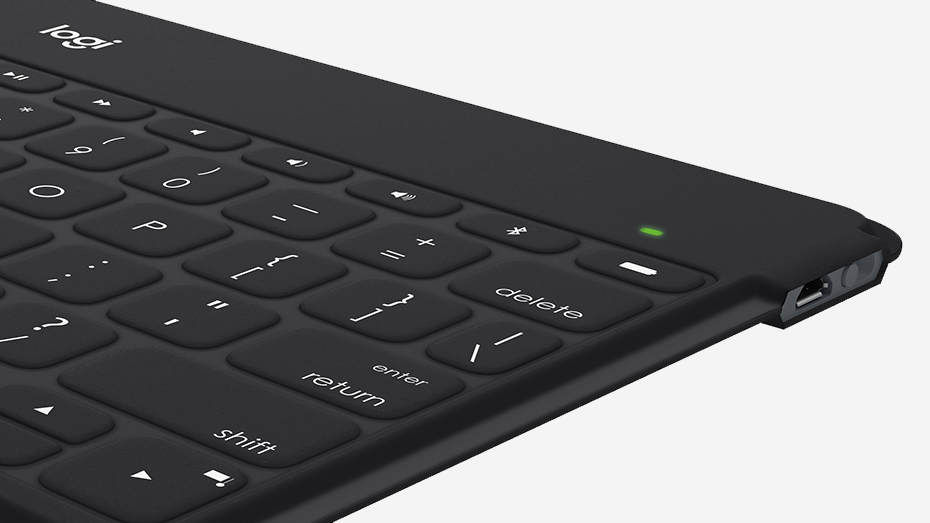 Logitech Keys-to-Go Portable Wireless Keyboard for iOS, Android