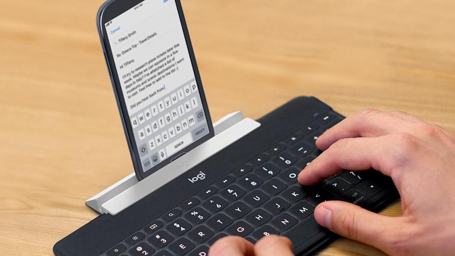 Logitech Keys-to-Go Portable Wireless Keyboard for iOS