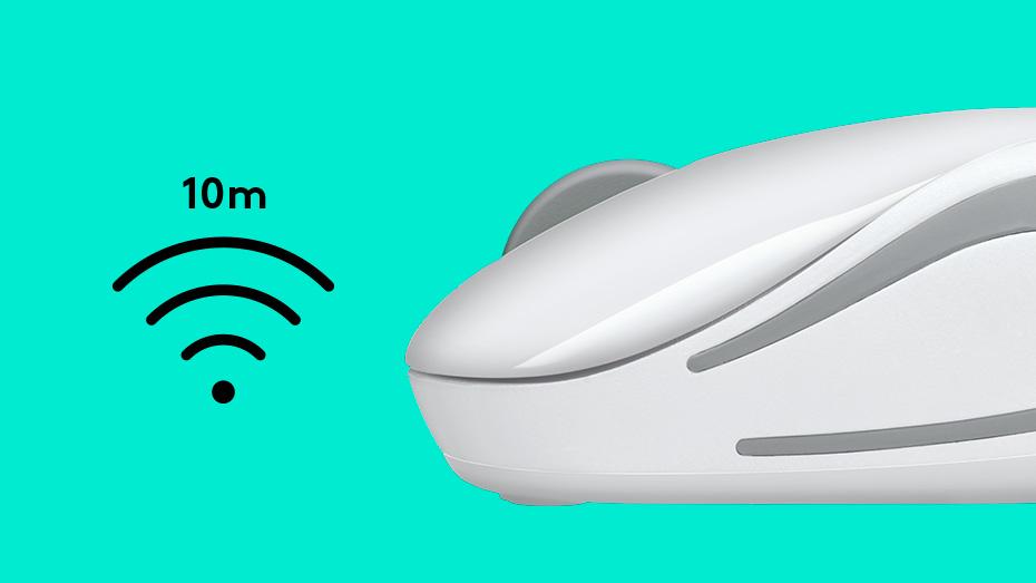LOGITECH Wireless Mini Mouse M187 1