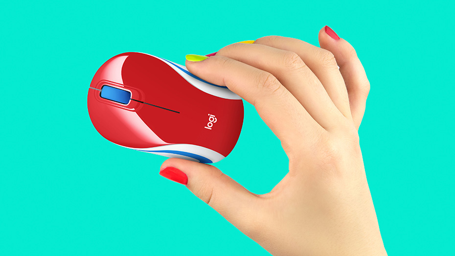 LOGITECH Wireless Mini Mouse M187 4