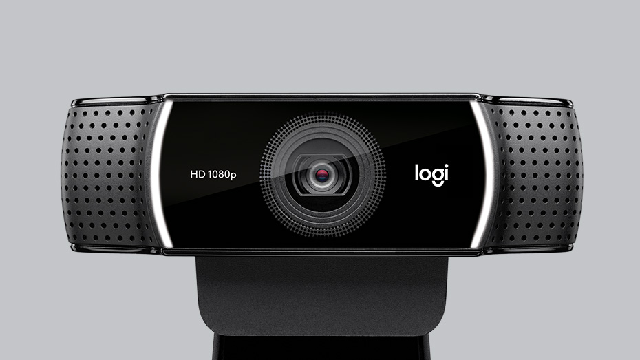 Logitech C922 Pro Stream HD Webcam with 30fps at 1080p