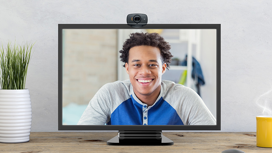 Logitech foldable HD 720p video calling with autofocus camera - C525 7