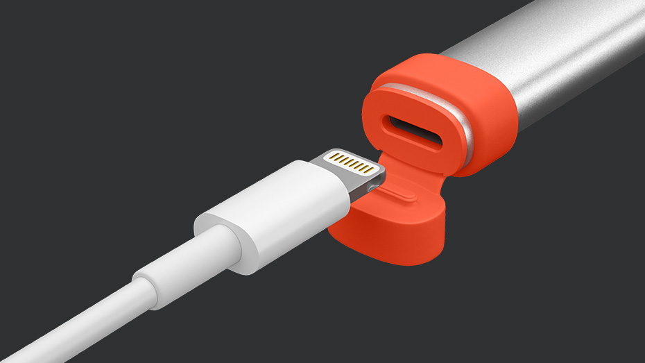 Charging cable and crayon digital pencil charging port