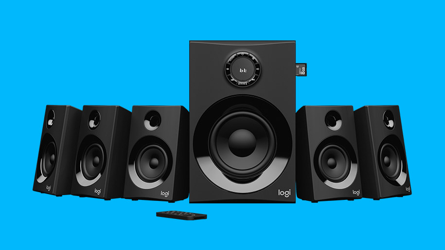 Logitech Z607 5 1 Surround Sound Speakers With Bluetooth