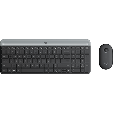 Product Image of Slim Wireless Keyboard and Mouse Combo MK470