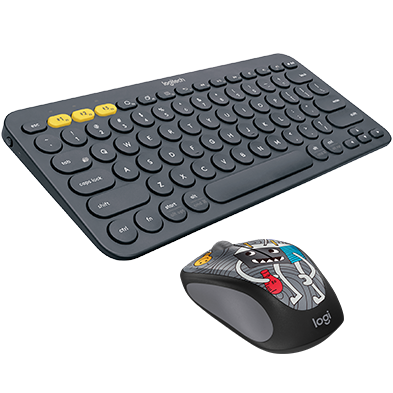 Product Image of K380 MULTI-DEVICE KEYBOARD + DOODLE MOUSE