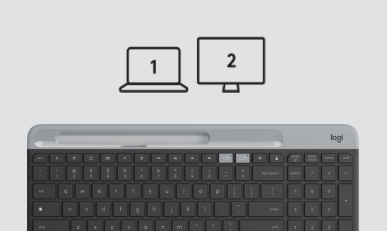 Pair the Keyboard with a Second Device