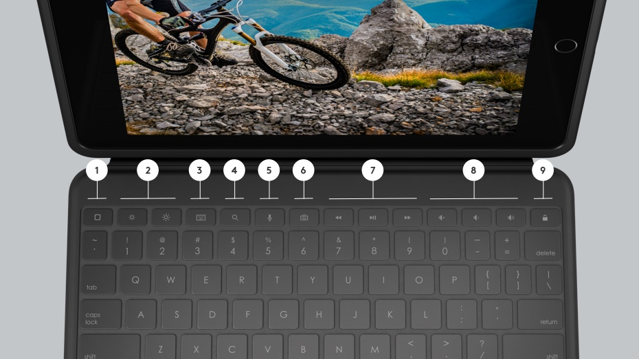Rugged Folio | Shortcut keys 1 - 10