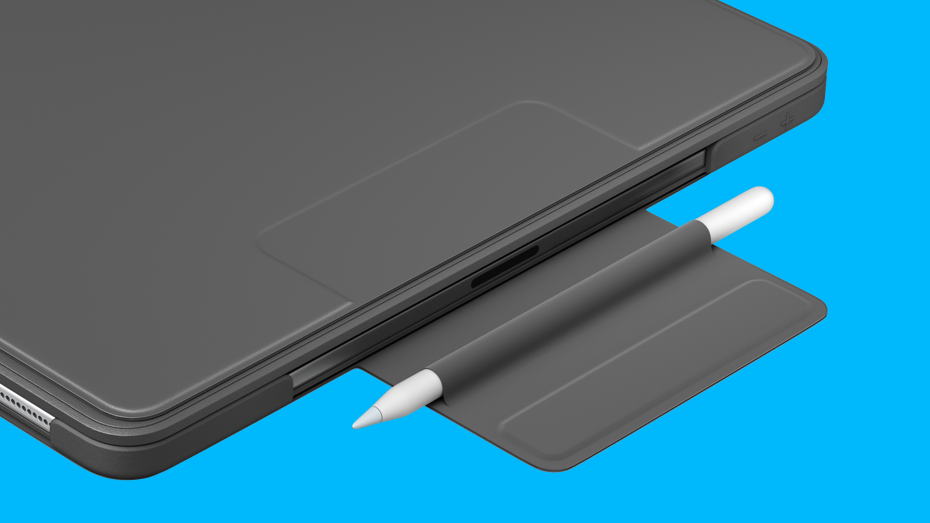Convenient Magnetic Latch with Apple Pencil