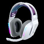 G733 LIGHTSPEED Wireless RGB Gaming Headset - White