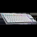 G915 TKL Logitech G915 TKL Tenkeyless LIGHTSPEED Wireless RGB Mechanical Gaming Keyboard - White US International Tactile