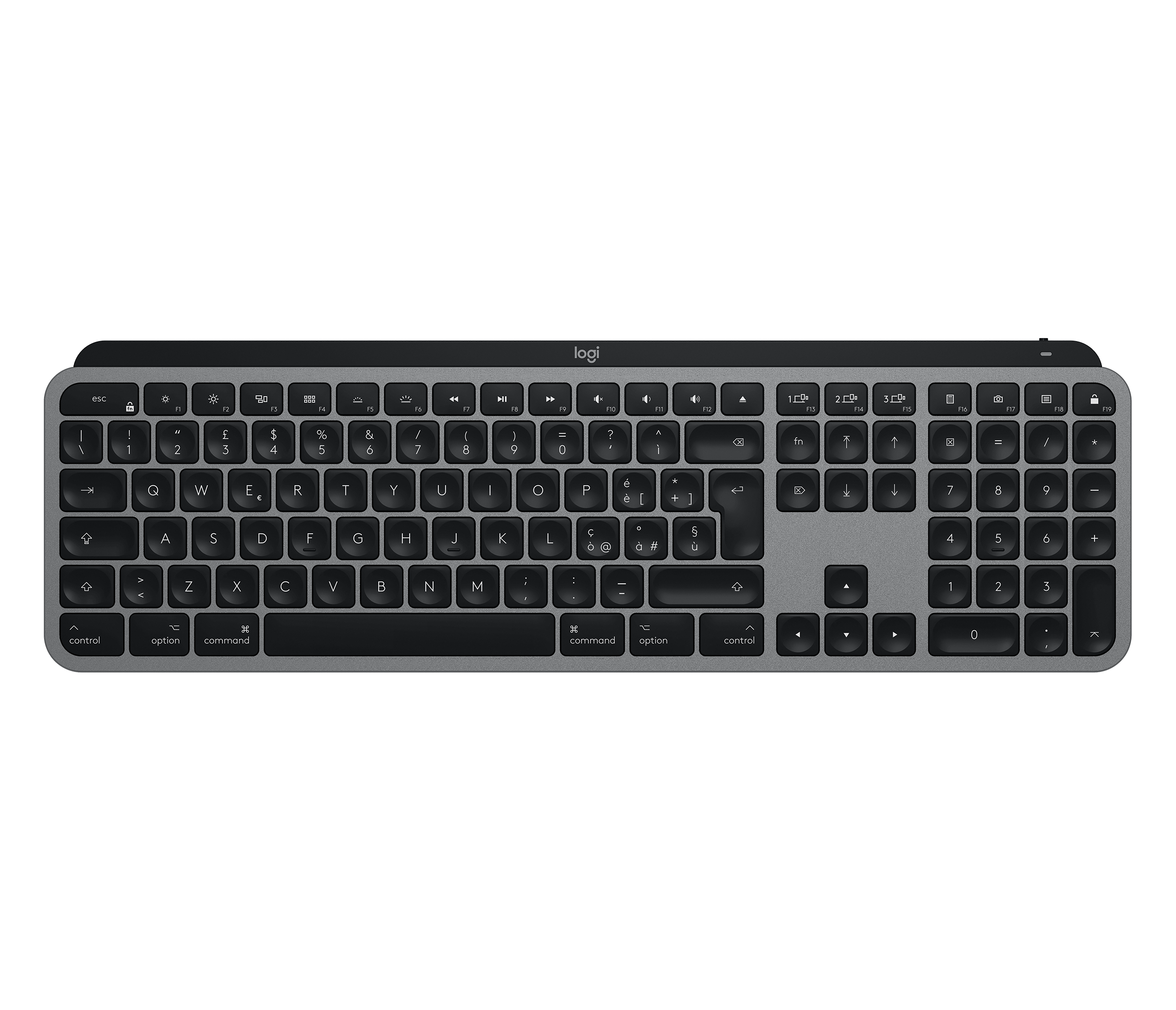 Logitech MX Keys for Mac - Wireless Illuminated Keyboard