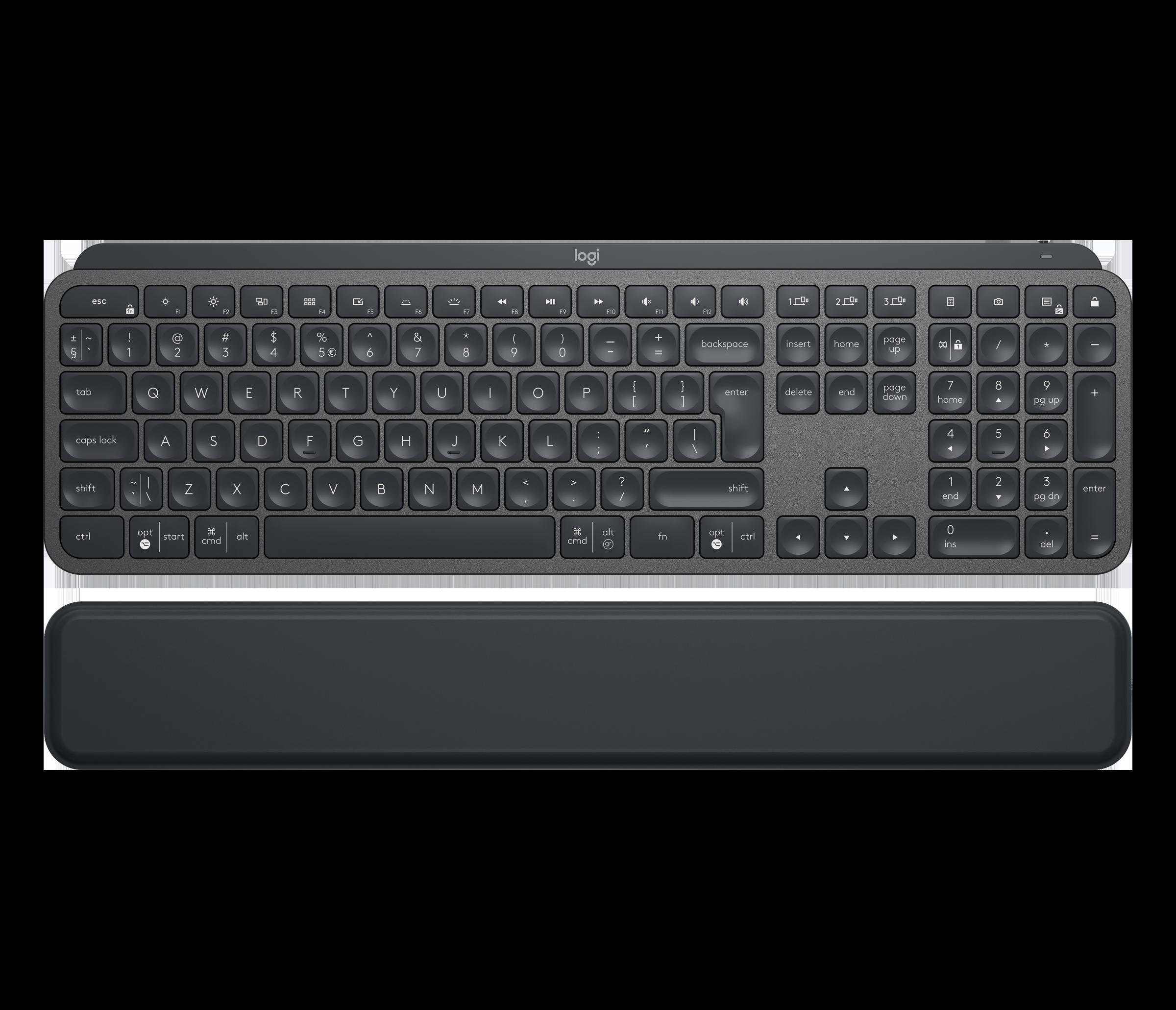 Logitech Norge Wireless Illuminated Keyboard K800