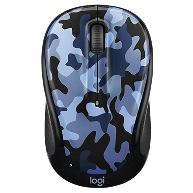 Color collection wireless mouse-BlueCamo