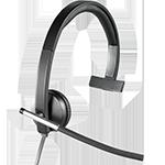 Logitech H650e Headset - Mono