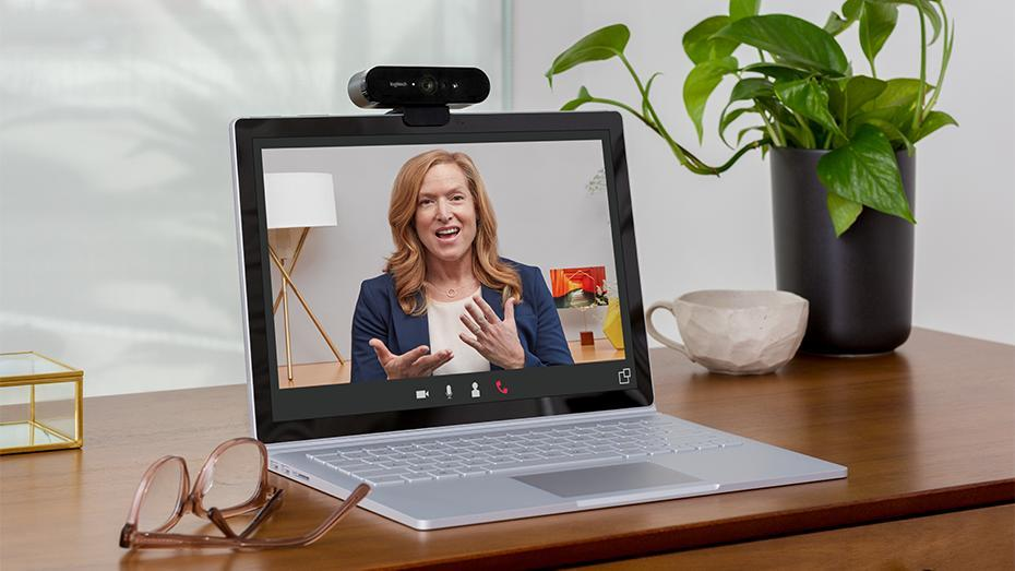 laptop computer with webcam